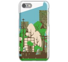 Asian zen in Summer iPhone Case/Skin
