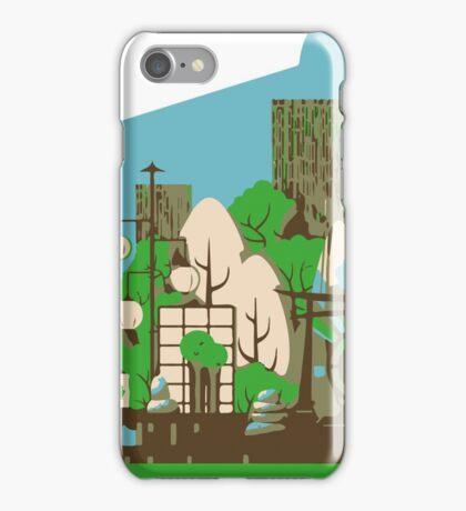 Asian zen in Summer iPhone Case/Skin