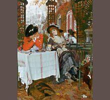 Vintage Fine Art - James Tissot -The Luncheon 1868 Unisex T-Shirt