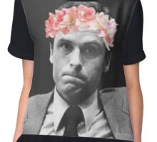 Flower crown Ted Bundy Chiffon Top