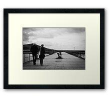Loving Walk Framed Print