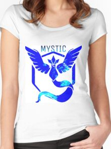Team Mystic Galaxy Women's Fitted Scoop T-Shirt