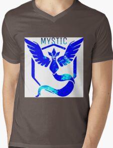 Team Mystic Galaxy Mens V-Neck T-Shirt