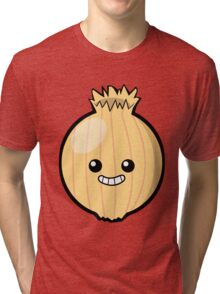 Ogres Have Layers. Onions Have Layers. Tri-blend T-Shirt