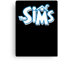 The sims logo Canvas Print