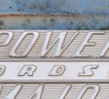 Fordson Power Major Sticker