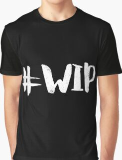 #WIP (white on black) Graphic T-Shirt