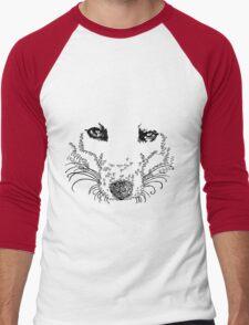 FOX BLACK T SHIRT Men's Baseball ¾ T-Shirt