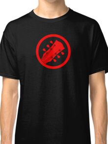 Guitar player red Classic T-Shirt