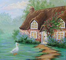 Cottage Dawn by L.W. Turek