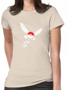 PokeNavi, Zelda/Pokemon Womens Fitted T-Shirt