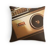 Instamatic Camera Zoom Throw Pillow