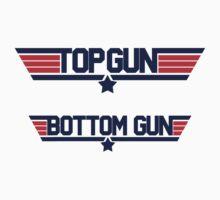 top gun bottom gun T-Shirt