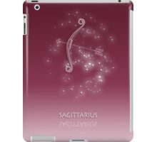 Sagittarius Zodiac constellation - Starry sky iPad Case/Skin