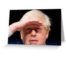 Boris Johnson Greeting Card