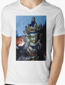 Dharma Light. Mens V-Neck T-Shirt