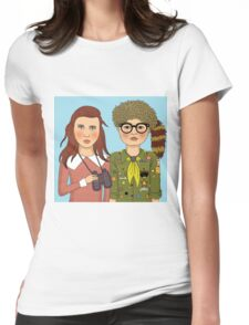Moonrise Kingdom Womens Fitted T-Shirt