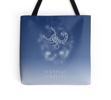 Scorpius Zodiac constellation - Starry sky Tote Bag