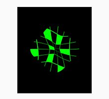 Green abstract flower Unisex T-Shirt