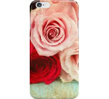 A painting of a bunch of Roses iPhone Case/Skin