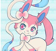 Sylveon's Fancy by ElizabethAnyon