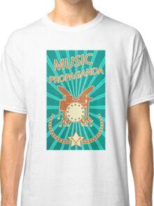 Music Propaganda Drum Set Classic T-Shirt