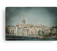 Galata Tower Canvas Print