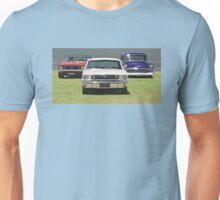 Mustang, Camaro, 56 Chevy Unisex T-Shirt