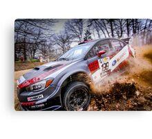Subaru Rally Up Close Canvas Print