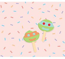 ice cream and sprinkles Photographic Print