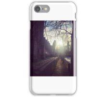 The Church Yard at Sunset iPhone Case/Skin
