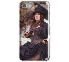 Steampunk at the Tunnels #3 iPhone Case/Skin