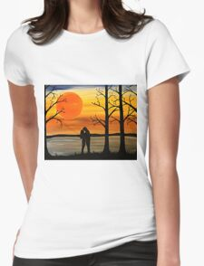 First Love Womens Fitted T-Shirt