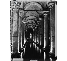 Basilica Cistern in Black and White   iPad Case/Skin