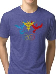 Pokemon Go - United Teams Tri-blend T-Shirt