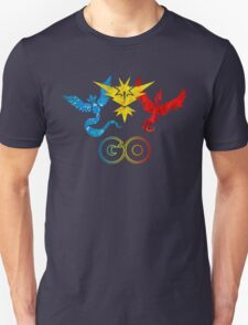 Pokemon Go - United Teams Unisex T-Shirt