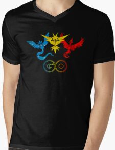 Pokemon Go - United Teams Mens V-Neck T-Shirt