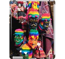 Ollantaytambo Masks iPad Case/Skin