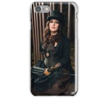 Steampunk at the tunnels #2 iPhone Case/Skin