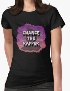 Chance - Messy Womens Fitted T-Shirt