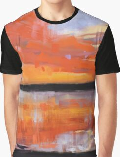 Fire in the Sky Graphic T-Shirt