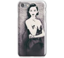 Asian model series 1 iPhone Case/Skin