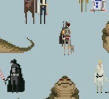 Pixel Star Wars Sticker