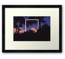 Rectangle No. 1 Framed Print
