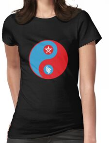Paragon-Renegade, Ying-Yang Womens Fitted T-Shirt