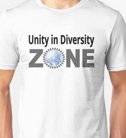 Unity in Diversity ZONE Unisex T-Shirt