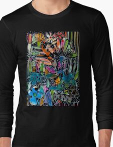 Psychedelic Potpourri - Flowers Long Sleeve T-Shirt