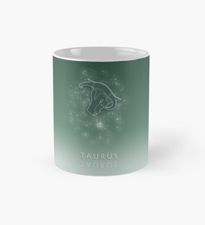 Taurus Zodiac constellation - Starry sky Mug