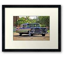 '59 Cadillac Fleetwood Limo Framed Print