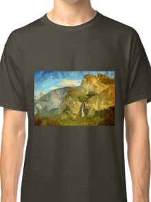 A scenic view of Yosemite National Park Classic T-Shirt